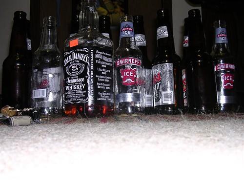Alcohol in Bottles
