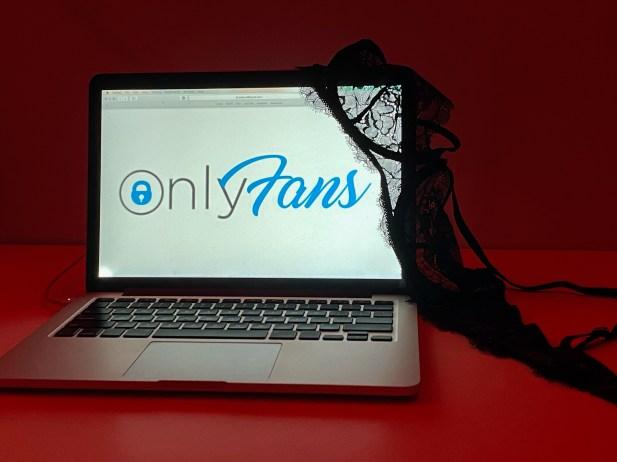 OnlyFans loading homescreen