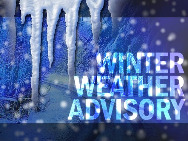 Winter weather advisory for western NJ