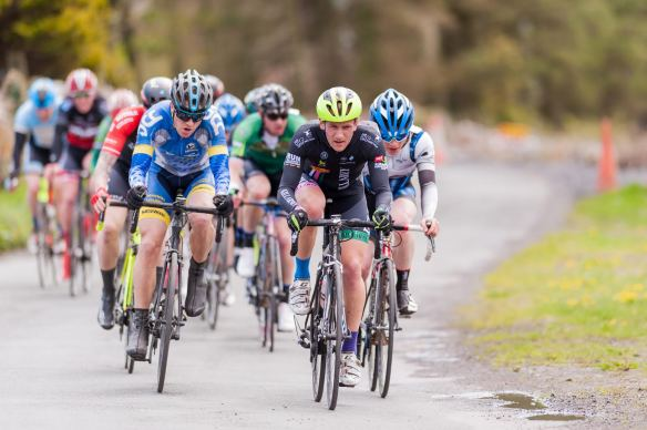 Eoin O Connell on the front