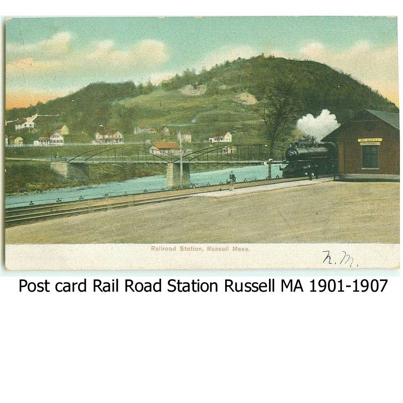 Russell MA Post Card