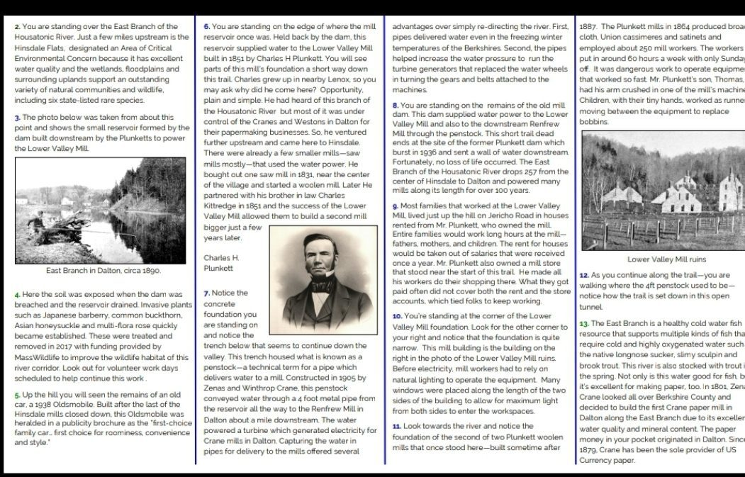 Hinsdale Old Mill Interpretive 1