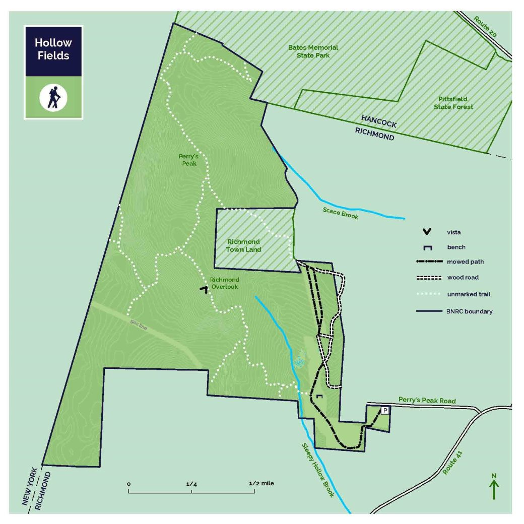 Richmond hollow fields New map