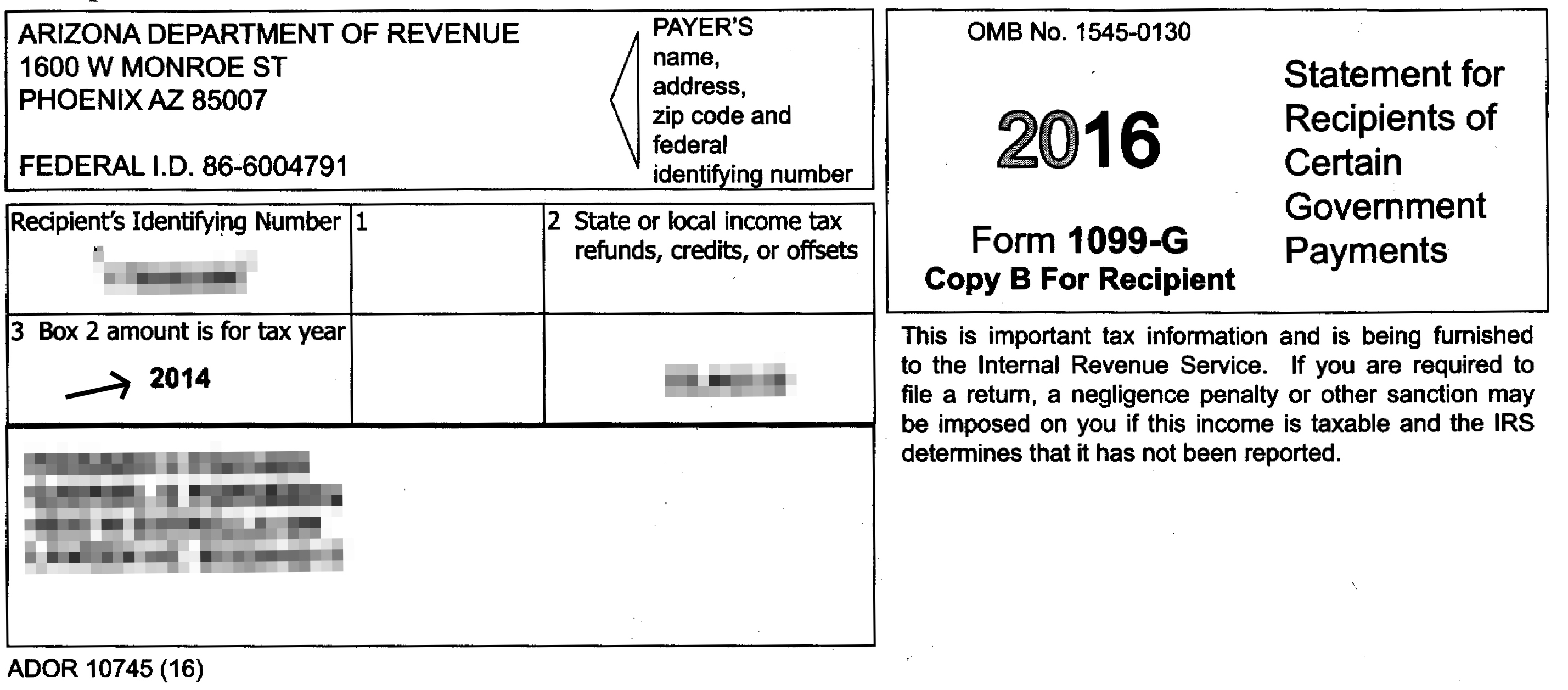 State Income Tax Refund Form G State Income Tax Refund