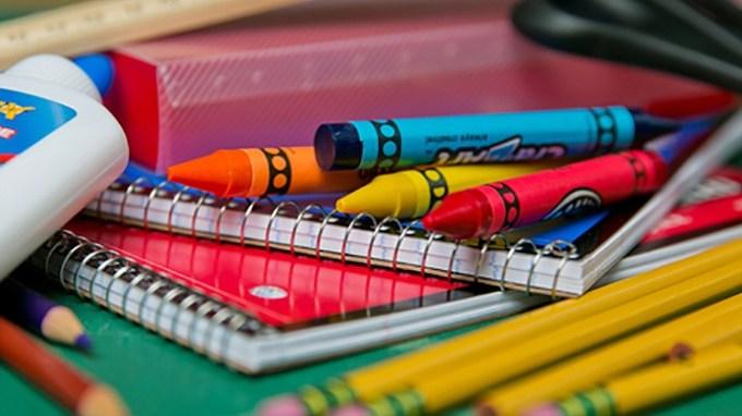 Basic school supplies