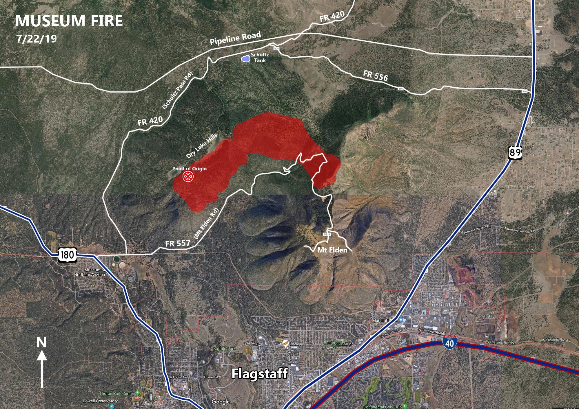 Map Yuma Az Located Where