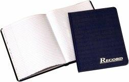 RECORD BOOK NAVY 80 PAG