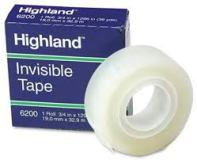 TAPE INVISIBLE 3/4 X 1296 DZ