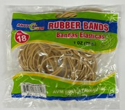RUBBER BAND #18 (1) OUNCE