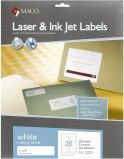 LASER LABELS 1 X 4 WHITE