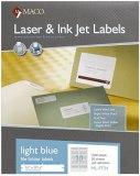 FILE FOLDER LABEL LIGHT  BLUE