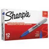 SHARPIE FINE POINT BLUE/DZ