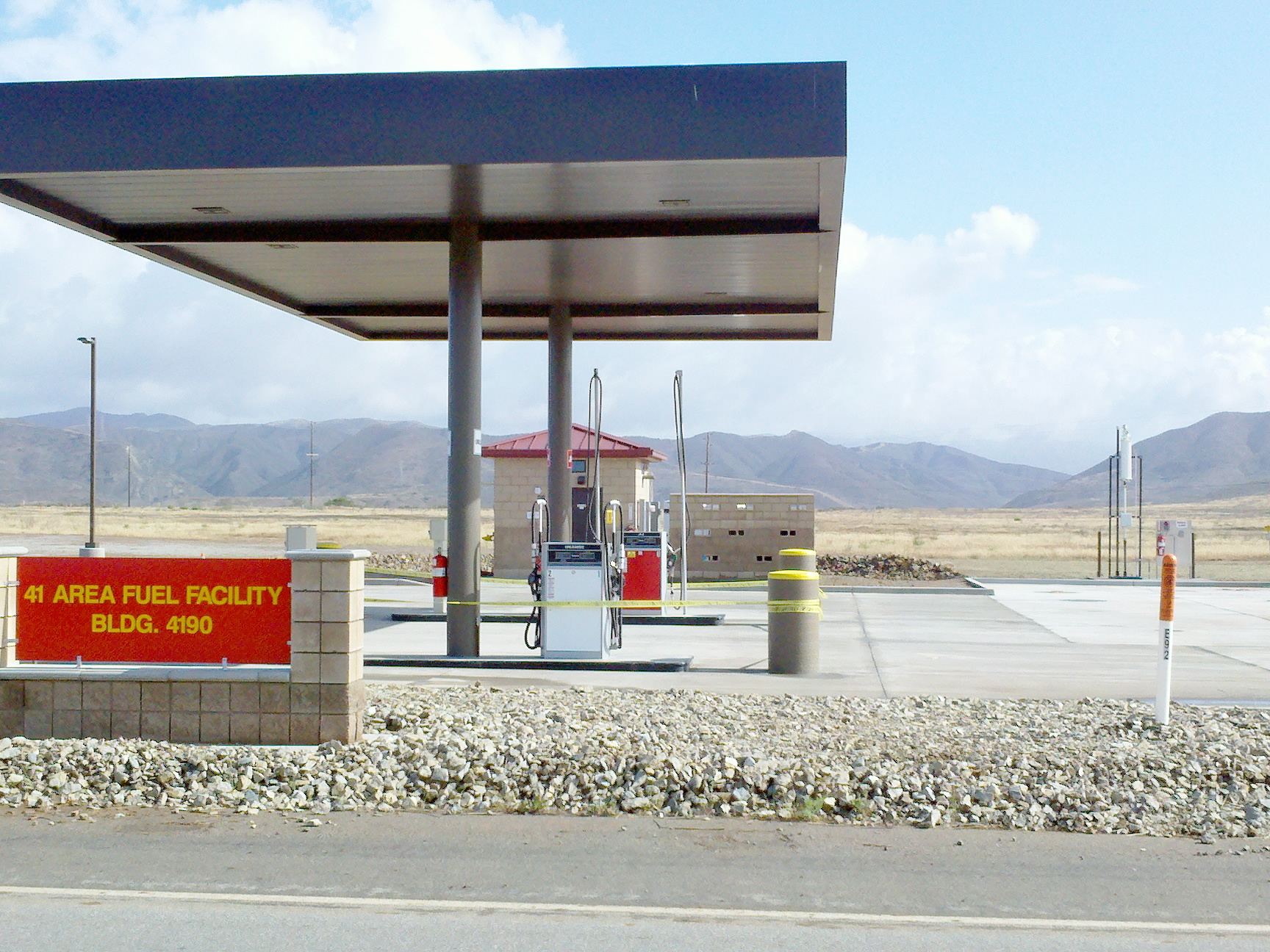 Design/Build Fuel Services Facilities, (Camp Pendleton, CA) Project | Western Pump