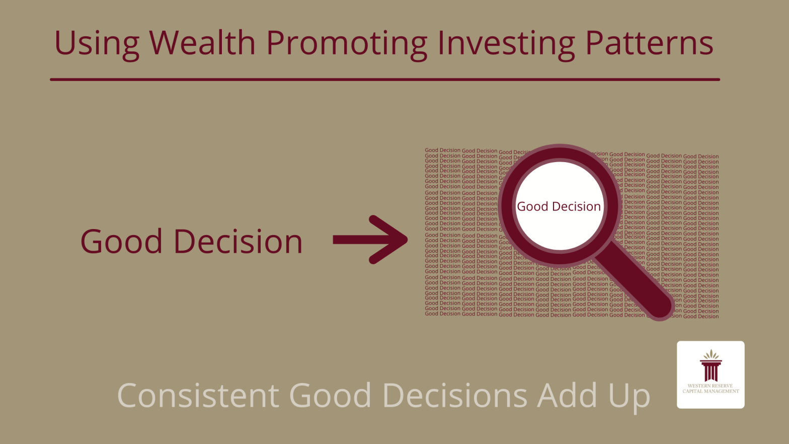 Using Wealth Promoting Investing Patterns