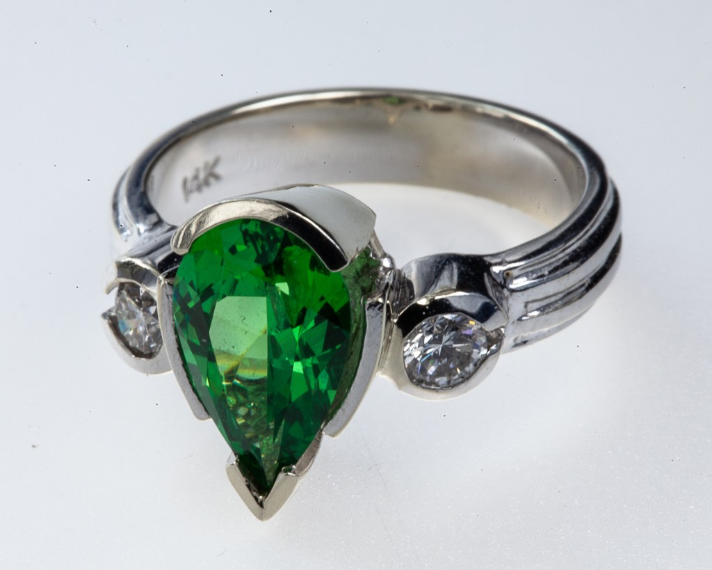 Custom Jewelry - Tsavorite