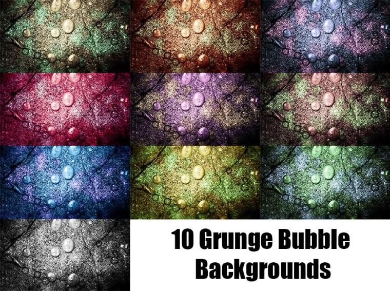 Grunge Bubble Website Backrounds
