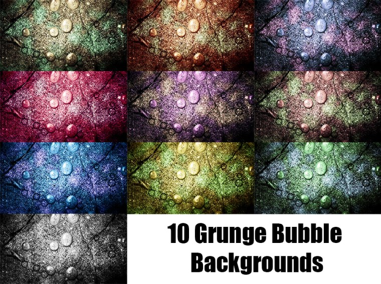 Grunge Bubble Website Backrounds