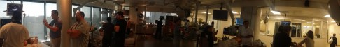 Panoramic shot of the 8th floor - one of 2 floors of hands on scanning at CSTAR.