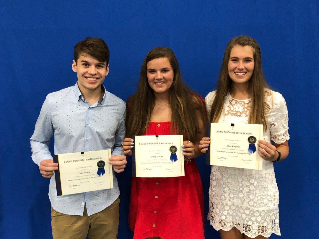 WSBA Scholarship 2019 Award Winners