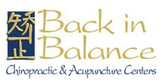 Back in Balance logo