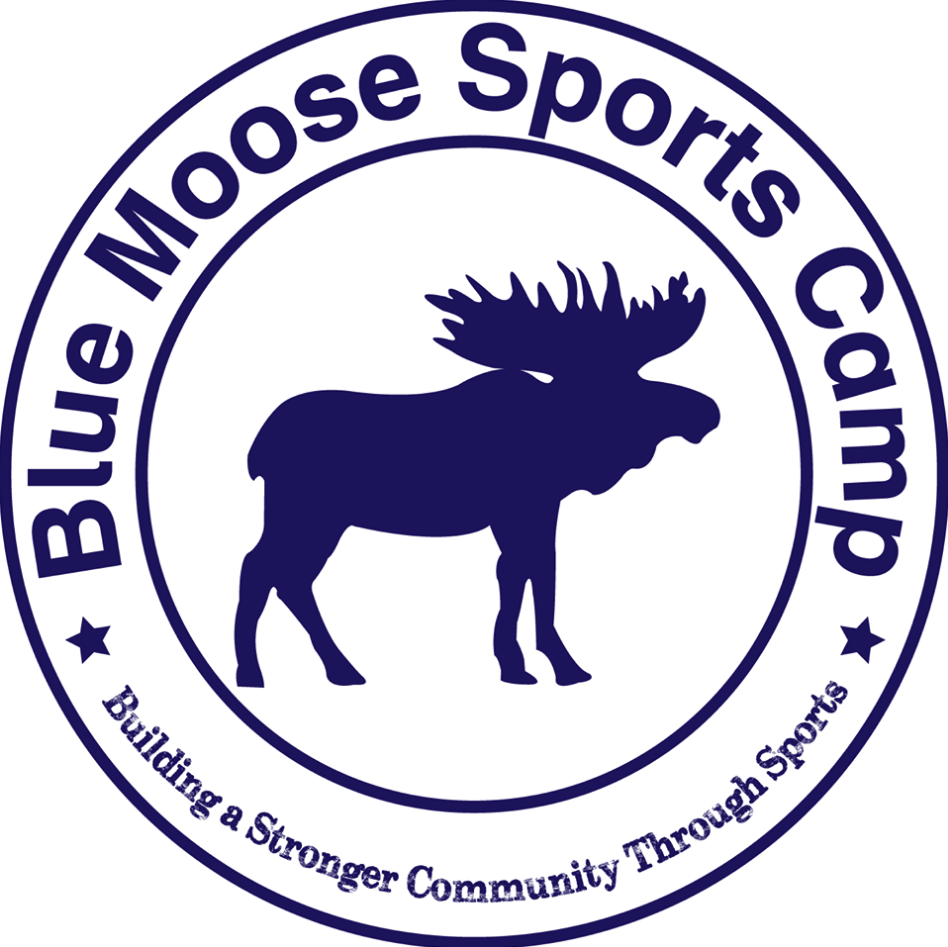 Blue Moose Sports Camp Logo