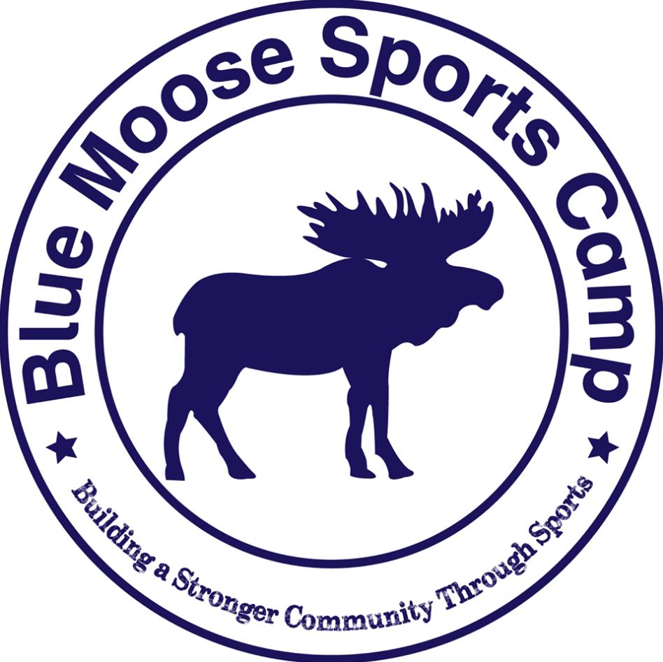 Blue Moose Sports Camp Logo