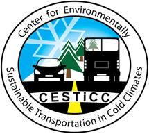 Logo for CESTiCC - Center for Environmentally Sustainable Transportation in Cold Climates