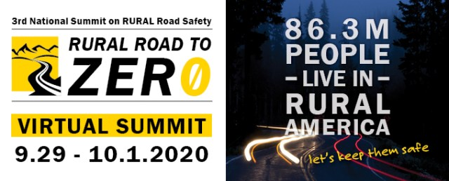 Logo for Rural Road to Zero Virtual Summit in September 2020