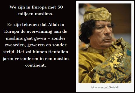 maummar kaddafi