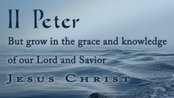 Peter's Last Will and Testament (Part II)