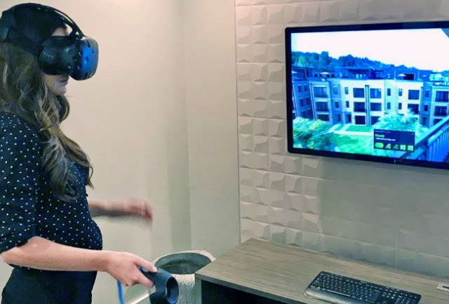Toll Brothers virtual reality