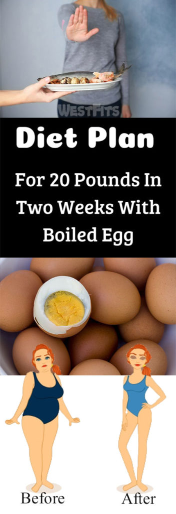 Complete Diet Plan For 20 Pounds In Two Weeks With Boiled Egg