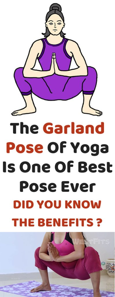 The Garland Pose Of Yoga Is One Of Best Pose Ever