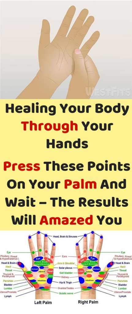 Healing Your Body Through Your Hands, Press These Points On Your Palm And Wait – The Results Will Amazed You