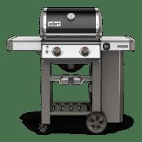 Weber Genesis II E-210 2-Burner LP Gas Grill, 26,000-BTU, Black