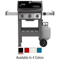 Weber Spirit II E-310 3-Burner LP Gas Grill, 30,000-BTU Multiple Colors