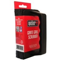 Weber Heavy-Duty Grill Grate Scrubber With 3 Pads