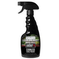 Weber Stainless Steel Grill Polish, Citrus, 12-oz. Spray