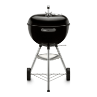 18″ Original Kettle Charcoal Grill – Black