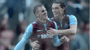 West Ham stun Stoke at The Britannia