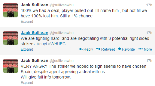 Jack-Sullivan-West-Ham-Tweets