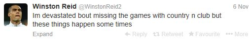 winston-reid-injury-tweet