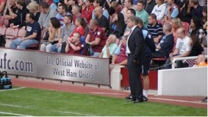 Does the face of Big Sam fit West Ham's  future?