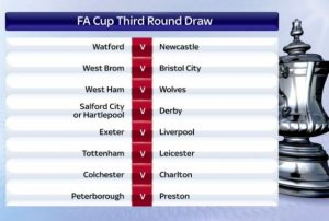 FA Cup Third Round Draw- Hammers to face Wolves