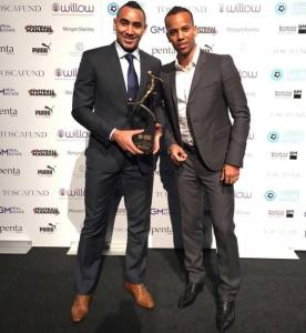 Dimi named Player of the Year at London Football Awards