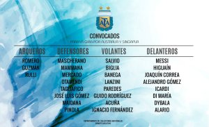 Lanzini earns maiden Argentina call up
