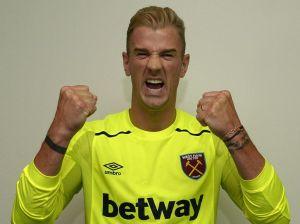 West Ham sign Joe Hart on loan