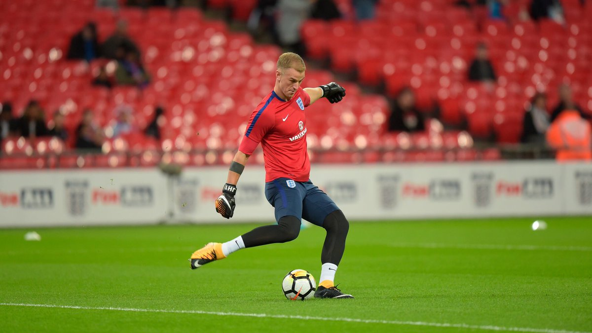 Joe Hart 74 Caps England