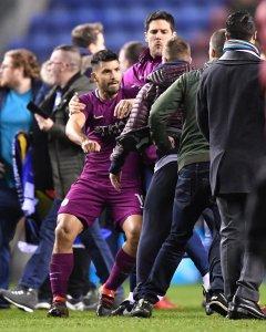 West Ham's conquerors Wigan stun Man City in FA Cup