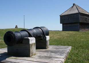 fort edward and cannon